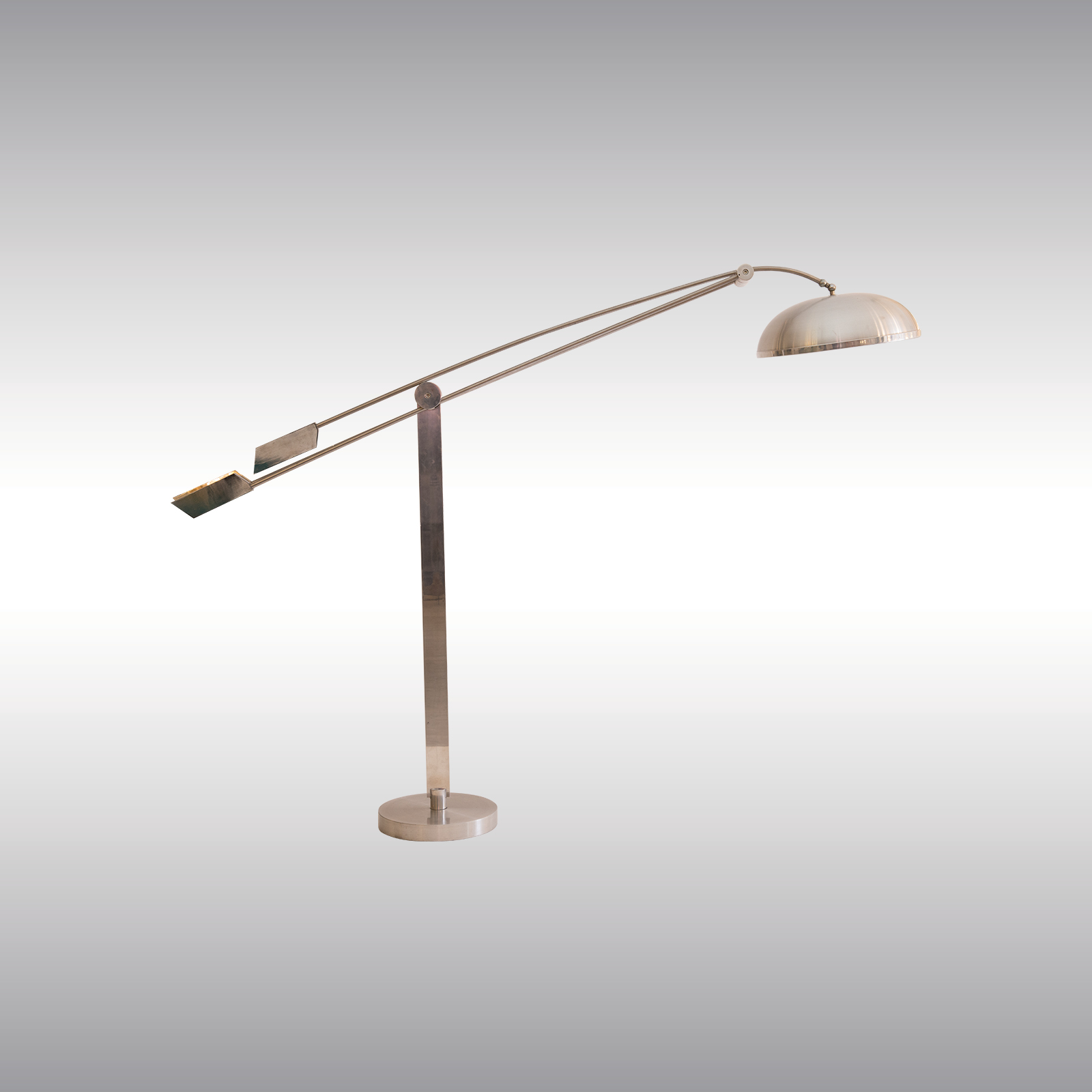 Machine Age Period Bauhaus Style Floor Lamp
